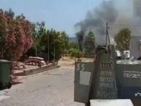 HAMAS'ın ateşlediği füze askeri aracı vurdu: 1 ölü 3 ağır yaralı