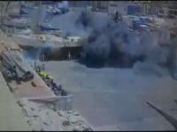 Aşdod Limanı Kassam Tugayları tarafından bu şekilde vuruldu