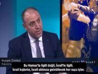 Filistinli diplomattan işgal rejiminin saldırılarını görmezden gelen BBC sunucusuna tokat gibi cevap