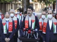 """Bakan Kurum: """"Kudüs Filistin'in başkentidir"""""""