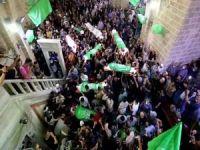 Gazze şehidlerini yad ediyor