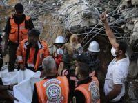 Şehid Filistinlilerin sayısı 100'ü aştı