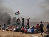 Filistin'e destek için sınırda toplanan göstericilere ateş açılmasına Lübnan'dan kınama