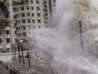 Çin'de kasırga felaketi: 10 ölü