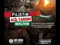 Umut Kervanından Filistin için acil yardım çağrısı