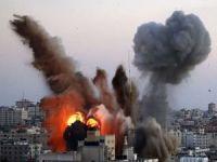 Filistin'de terör rejiminin saldırıları yedinci gününe giriyor