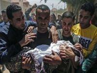 Gazze'de saldırılarda şehid sayısı 218'e yükseldi