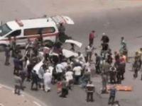 İşgal rejimi sivil bir aracı bombaladı: 3 şehid
