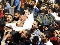 Şehid edilen İslami cihat komutanı Harbid son yolculuğuna uğurlandı