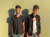 Suriye sınırında yakalanan şahıslardan biri PKK kuryesi çıktı