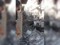 Afrin'de bombalı araçla saldırı: 5 yaralı