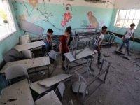 Siyonist işgal rejiminin bombardımanında 187 okul hasar gördü