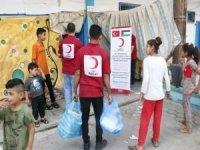 Kızılay Filistin'de yaraları sarıyor