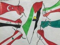 """TESSEP'ten """"Filistin ve Çocuk"""" temalı web resim sergisi"""