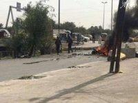 Bağdat'ta patlama: 2 ölü 14 yaralı