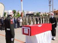 Kaza kurşunuyla vefat eden asker için tören düzenlendi