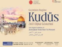 Cumhurbaşkanlığı İletişim Başkanlığı Kudüs'ü dijital gösterimle anlatıyor