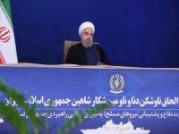 """İran Cumhurbaşkanı Ruhani: """"Gerginlik ve savaş peşinde değiliz"""""""