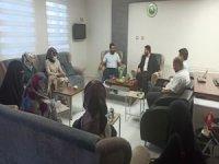 Fahri Kur'an Kursu öğreticilerinden HÜDA PAR'a ziyaret