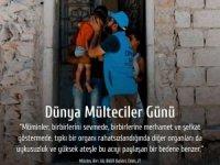 """Erbaş'tan """"Dünya Mülteci Günü"""" mesajı"""