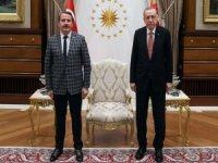 Cumhurbaşkanı Erdoğan Memur-Sen Genel Başkanı Yalçın'ı kabul etti