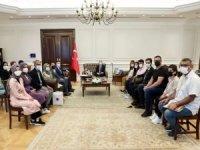 Batman Üniversitesi Rektörü Demir ile öğrenciler Bakan Soylu'yu ziyaret etti