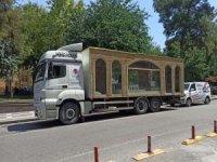 Minia Kudüs tırı Mardin'e geliyor