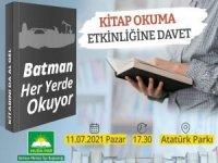 """HÜDA PAR Batman'da """"Kitap Okuma Etkinliği"""" düzenliyor"""