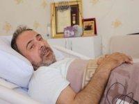 15 Temmuz'dan bu yana yatağa mahkûm yaşayan Gazi Algan, Cumhurbaşkanı ile görüşmek istiyor