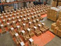 Hollanda'da 3 ton kokain ele geçirildi