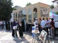 Siyasi parti ve STK temsilcilerinden Minia Kudüs tırına ziyaret