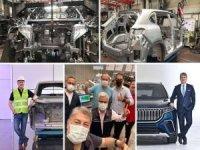TOGG yerli otomobilin montajından ilk görüntüleri paylaştı