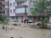 AFAD'tan Artvin ve Rize'de etkili olan yağışlarla ilgili açıklama: Mahsur kalanlar var
