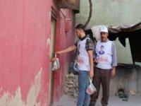 Siirt Umut Kervanı Derneği 200 aileye kurban eti dağıttı