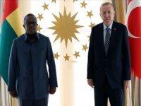 Cumhurbaşkanı Erdoğan Gine Bissau Cumhurbaşkanı ile görüştü