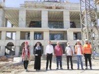 Güneydoğu'nun en büyük cami ve külliyesinin yapımı sürüyor