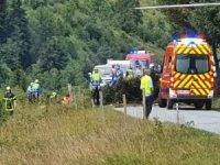 Fransa'da uçak düştü: 3 ölü, bir ağır yaralı