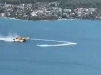Orman yangınını söndüren uçağı engellemişti: Soruşturma başlatıldı