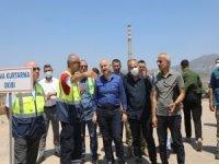 Açılan yollarla Yeniköy Santrali güvence altına alındı
