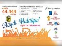 Malatya'da ödüllü aşı kampanyası