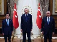 Erdoğan, Güney Kore Meclis Başkanı Park Byeong-Seug'u kabul etti