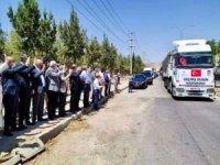 Mardin'de toplanan yardımlar selden etkilenen Kastamonu'ya uğurlandı