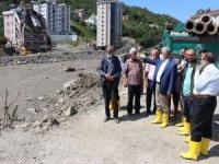 HÜDA PAR Genel Başkanı Yapıcıoğlu afet bölgesinde