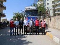Şırnak'tan afetzedelere yardım