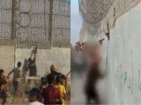 Göstericilere saldıran işgal polisi yakın mesafeden açılan ateşle ağır yaralandı