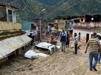 Venezuela'da sel nedeniyle 19 kişi öldü