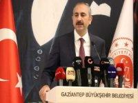 Adalet Bakanı Gül: Bir çocuk dahi bu kapıdan içeri girmesin isteriz