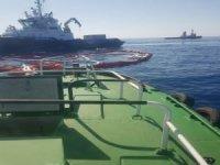 """""""Petrol sızıntısına karşı Akdeniz'i  bariyerle kapatıyoruz"""""""
