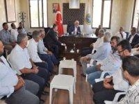 Yapıcıoğlu HÜDA PAR'lı Kayapınar Belde Belediyesini ziyaret etti