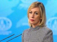 """Rusya Dışişleri Sözcüsü Zaharova """"ABD, Ukrayna'yı Rus karşıtı silah olarak kullanıyor"""""""